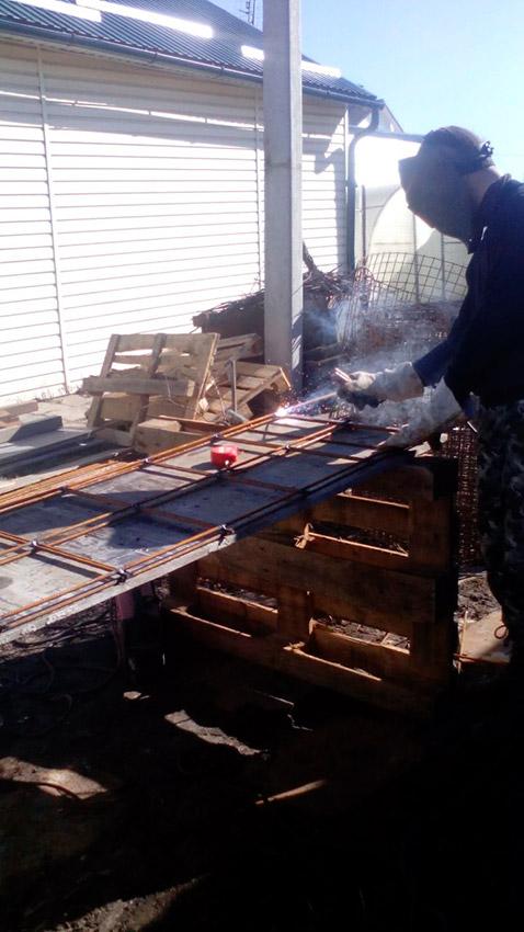 Процесс строительства веранды - этап №10 фото