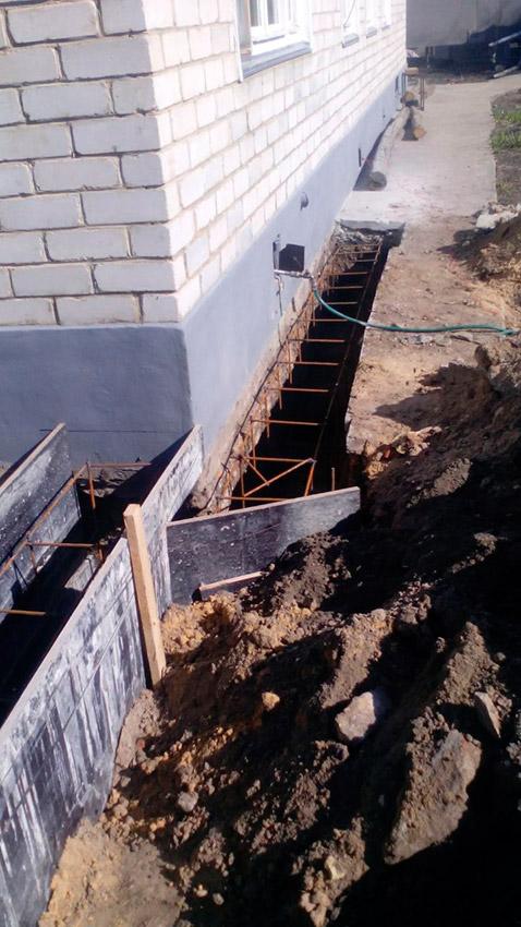 Процесс строительства веранды - этап №13 фото