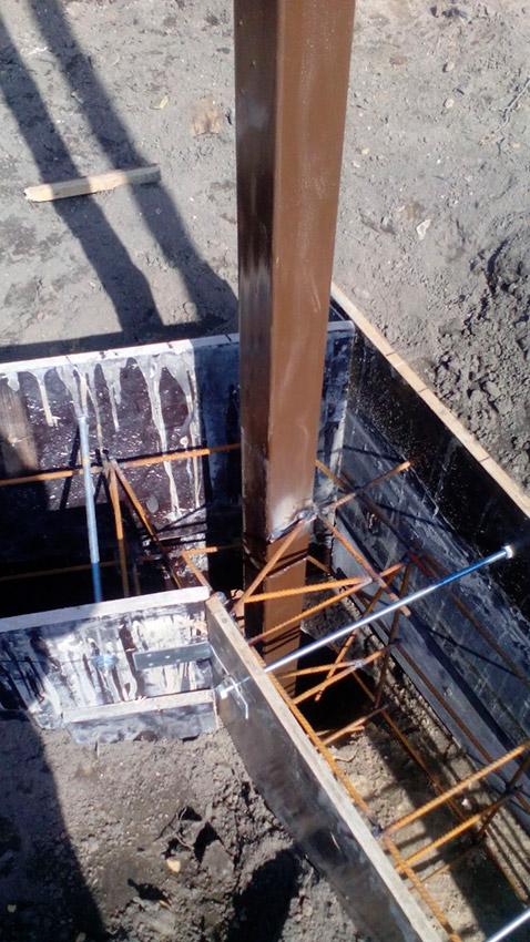 Процесс строительства веранды - этап №15 фото
