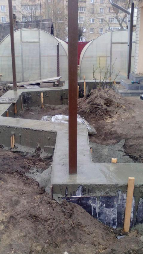 Процесс строительства веранды - этап №16 фото