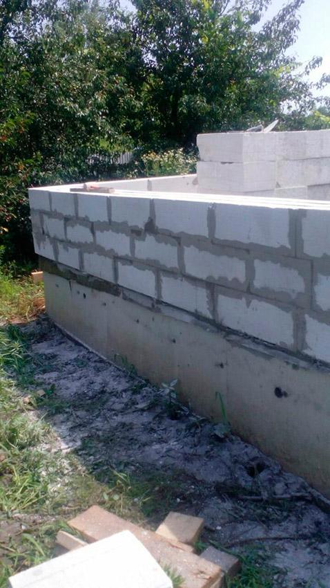 Строительство дачного дома - фото №10