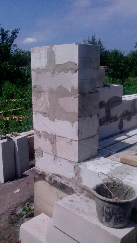 Строительство дачного дома - фото №11