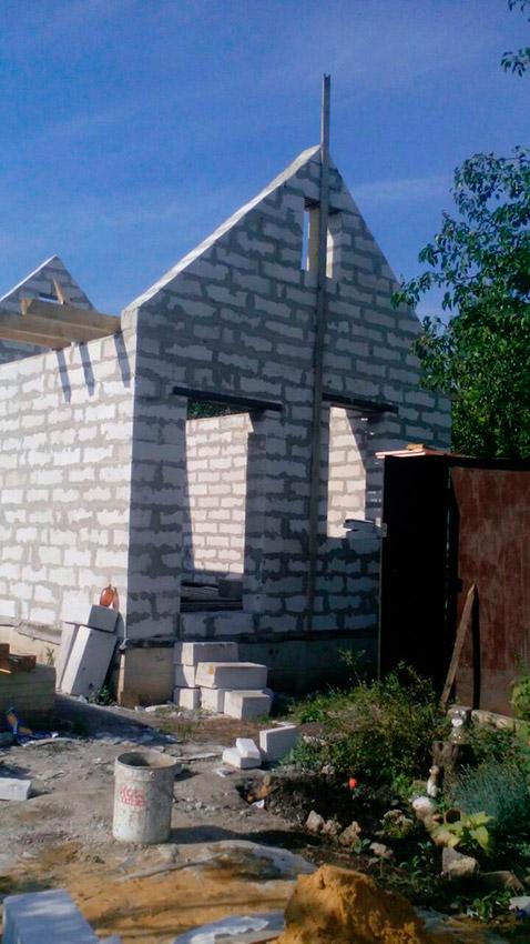 Строительство дачного дома - фото №12