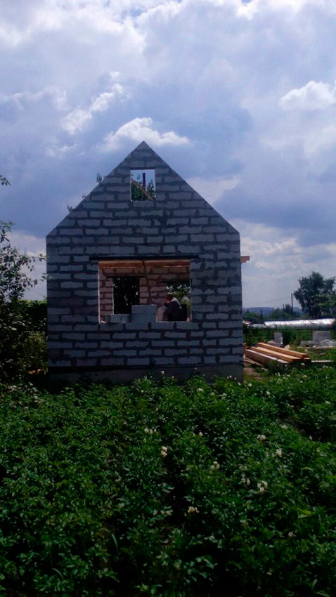 Строительство дачного дома - фото №2