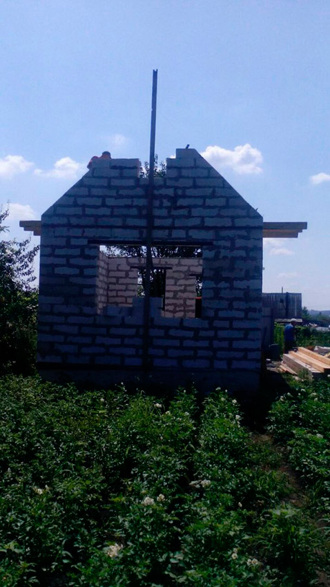 Строительство дачного дома - фото №4