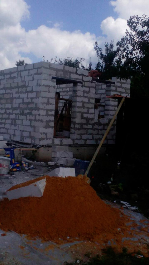 Строительство дачного дома - фото №6