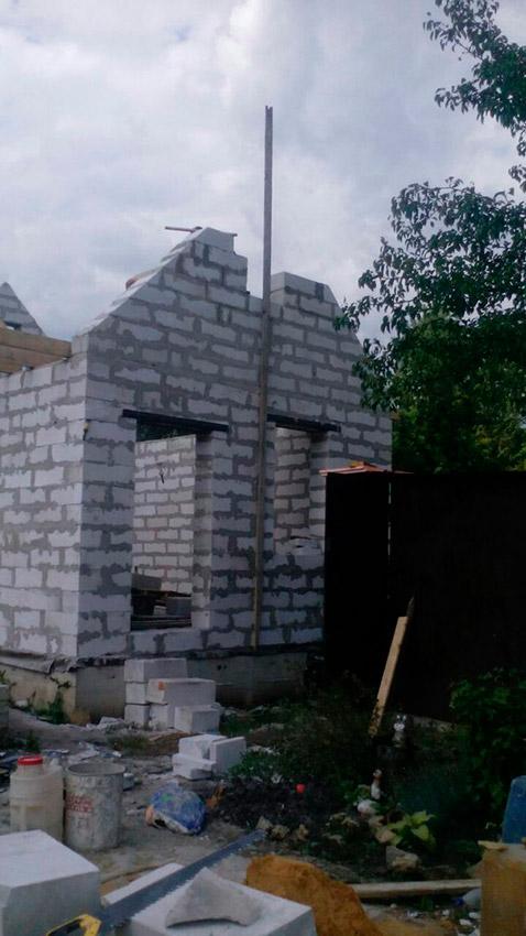 Строительство дачного дома - фото №8